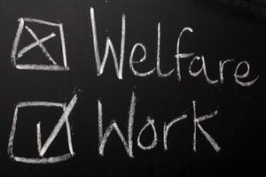 trabajo no bienestar
