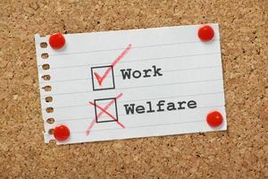 Work or Welfare? photo