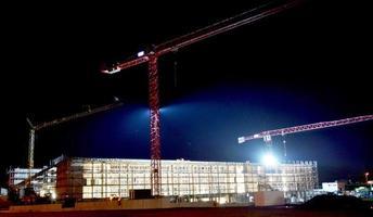 Baustelle bei Nacht photo