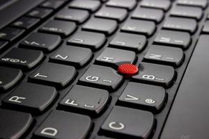Laptop keyboards detail