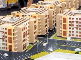 bienes raíces en miniatura foto