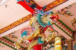 Drachen im chinesischen Tempel
