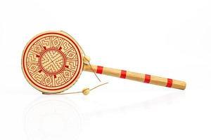 Chinese hand drum photo