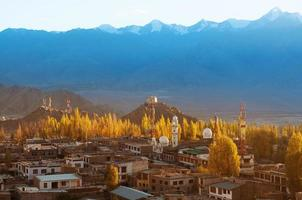 leh city ladakh norte de india foto