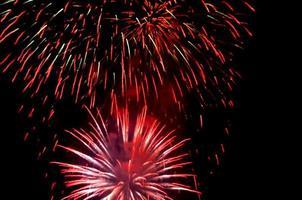 Beautiful fireworks photo