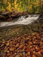 cachoeira no outono