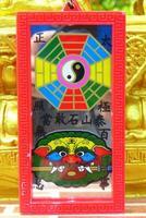 Chinese talisman.