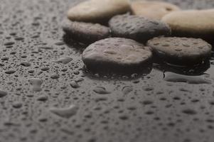 piedras de masaje spa foto