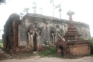 Yadana Hsemee Pagoda Complex in Myanmar. photo