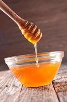 pouring honey
