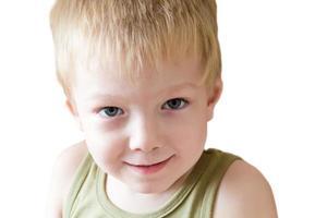 retrato de niño lindo foto