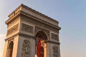 arc de triomphe à paris