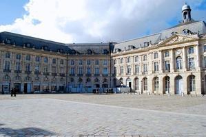Place de la Bourse in Bordeaux photo