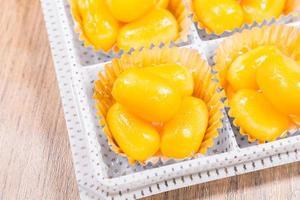 Golden Jackfruit Seeds, met khanoon: tha postre foto