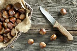 baking sweet chestnut