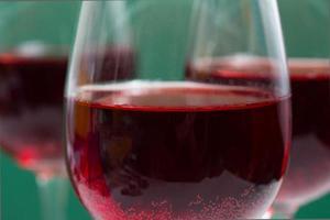 verres de pleurnicherie rouge
