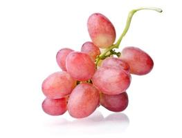 Juicy bunch of grapes photo