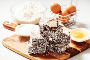 Group of Lamingtons