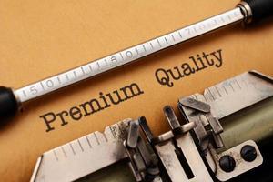 Calidad premium foto
