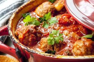 Chicken Meatballs Cooking