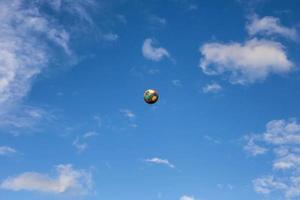 fútbol viejo foto