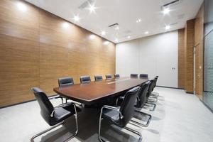 modern office meeting room interior