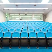 Sala de conferencias vacía. foto