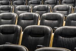 Theater seat front