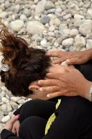 masaje de cuello foto