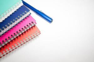 carnet et stylo