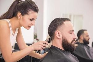 Hairdresser's photo