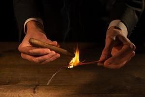 el arte de los cigarros foto