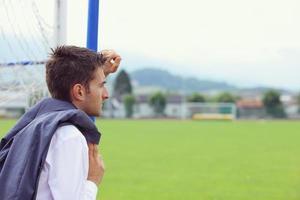 Soccer coach photo