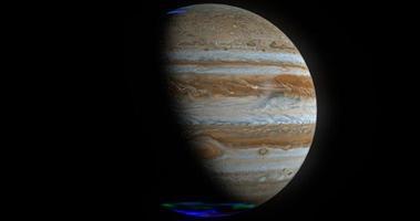 júpiter, render 3d