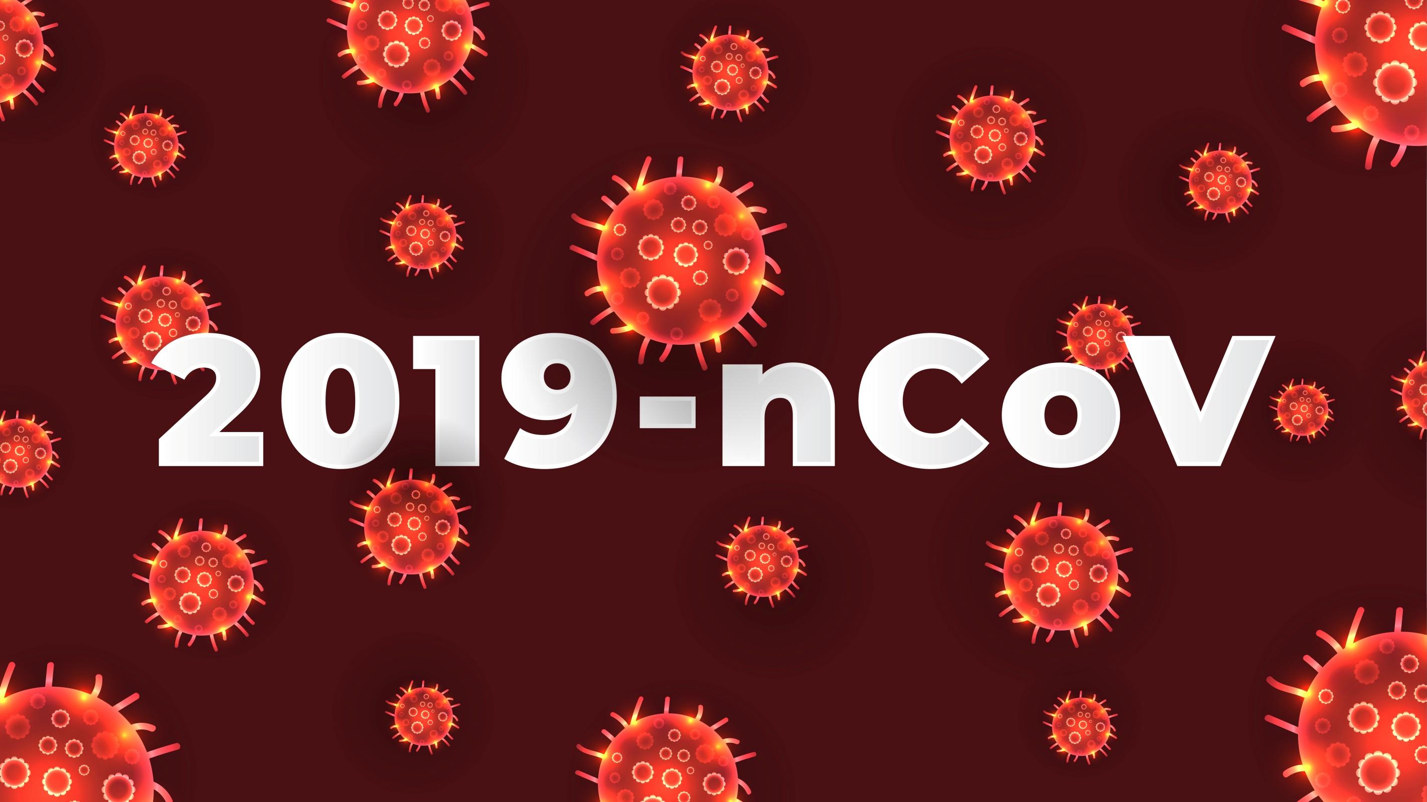 Red Coronavirus COVID-19 Background - Download Free Vectors ...