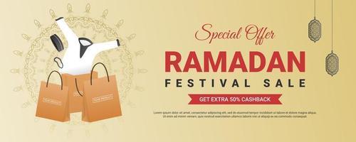 modèle de magasinage vente ramadan