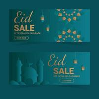 Eid Sale Banner Template Set