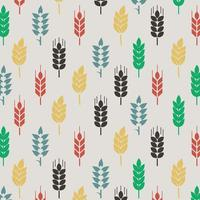 Colorful Wheat Pattern
