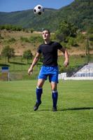 jugador de fútbol foto
