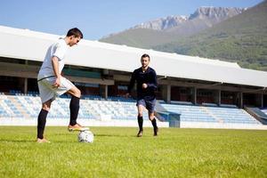 jugadores de futbol foto