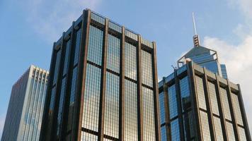 Hong Kong commerical buildings photo
