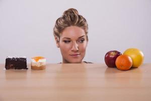 Healthy VS Unhealthy decisions photo