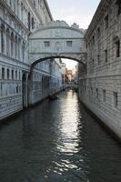 Bridge of sighs, Venice photo