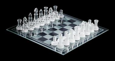 view of chess piece arranged on chess board