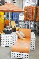 loja de móveis de jardim