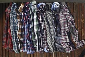 Checked Casual Shirts photo