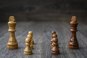 White Pawns Against Kings photo
