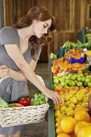 fare shopping al mercato