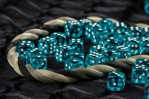 Blue dices