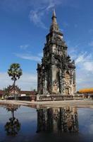 ing hang stupa en savannakhet, laos. foto